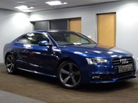 USED 2012 62 AUDI A5 2.0 TDI S LINE BLACK EDITION 2d 177 BHP++SAT NAV++PANORAMIC ROOF++
