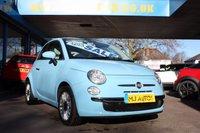 2015 FIAT 500 1.2 LOUNGE 3dr 69 BHP £5995.00