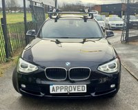 USED 2014 14 BMW 1 SERIES 1.6 116D EFFICIENTDYNAMICS BUSINESS 5d 114 BHP NAV, HEATED LEATHER!