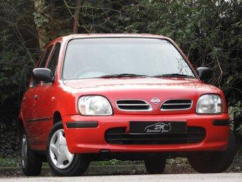1998 NISSAN MICRA 1.0 EQUATION 16V 5d AUTO 54 BHP £1499.00