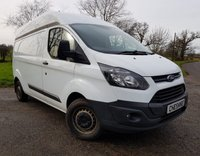 USED 2015 64 FORD TRANSIT CUSTOM 2.2 290 LWB HR P/V 1d + 1 OWNER + FULL SERVICE HISTORY + VAT