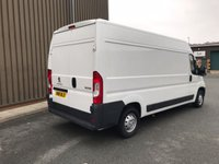 USED 2016 16 PEUGEOT BOXER 2.2 HDI 335 L3H2 PROFESSIONAL 130 BHP Sat Nav Cruise A/C