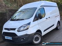 2015 FORD TRANSIT CUSTOM L2 H2 290 LWB HIGH ROOF 2.2 100 BHP £9495.00