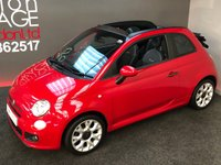 USED 2013 13 FIAT 500 0.9 C S TWINAIR 3d 85 BHP CONVERTIBLE TWIN AIR WITH SPORT S KIT AND LEATHER