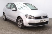 USED 2011 11 VOLKSWAGEN GOLF 1.4 TWIST 5DR 79 BHP SERVICE HISTROY + AIR CONDITIONING + RADIO/CD/AUX/USB + ELECTRIC WINDOWS + ELECTRIC MIRRORS + 16 INCH ALLOY WHEELS