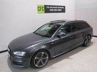 2014 AUDI A4 2.0 AVANT TDI S LINE BLACK EDITION 5d AUTO 174 BHP £14000.00