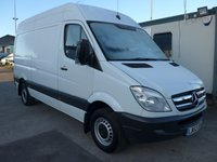 USED 2013 62 MERCEDES-BENZ SPRINTER 313 CDI MWB HI ROOF, 130 BHP [EURO 5]