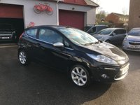 USED 2011 61 FORD FIESTA 1.2 CENTURA 3d 81 BHP VERY LOW MILES, REVERSE CAMERA, HEATED SCREEN, DAYTIME RUNNING LIGHTS