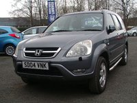 2004 HONDA CR-V 2.0 I-VTEC EXECUTIVE 5d 148 BHP £2995.00