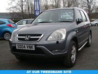 USED 2004 04 HONDA CR-V 2.0 I-VTEC EXECUTIVE 5d 148 BHP AT OUR TWEEDBANK SITE