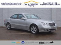 USED 2008 08 MERCEDES-BENZ E-CLASS 2.1 E220 CDI AVANTGARDE 4d 168 BHP Service History Leather A/C Buy Now, Pay Later Finance!