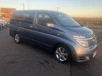 USED 2018 53 NISSAN ELGRAND 3.5 Highway Star 8 Seater Automatic