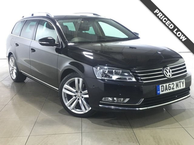 View our 2012 62 VOLKSWAGEN PASSAT 2.0 SPORT TDI BLUEMOTION TECHNOLOGY 5d 168 BHP