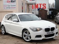 USED 2012 62 BMW 1 SERIES 2.0 116D M SPORT 5d 114 BHP 2 OWNERS | JUST BEEN SERVICED