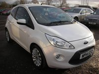 USED 2014 14 FORD KA 1.2 ZETEC 3d 69 BHP 1 Owner from new - Air con - Electric windows