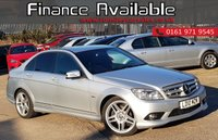 2010 MERCEDES-BENZ C CLASS 2.1 C220 CDI BLUEEFFICIENCY SPORT 4d 170 BHP £7444.00