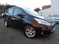 USED 2013 13 FORD B-MAX 1.5 ZETEC TDCI 5d 74 BHP BLUETOOTH CONNECTION WITH VOICE CONTROL