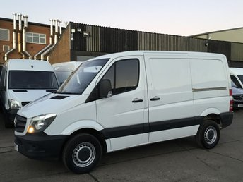 2016 MERCEDES-BENZ SPRINTER 2.1 313CDI SWB LOW ROOF 130BHP AIRCON. 1 OWNER. RARE VAN. £13890.00