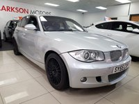2005 BMW 1 SERIES 2.0 120D M SPORT 5d AUTO+HEATED LEATHER XENONS+SAT NAV+ £3990.00