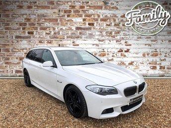 2013 BMW 5 SERIES 2.0 520d M Sport Touring 5dr £12895.00