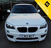 USED 2012 12 BMW X1 2.0 XDRIVE18D M SPORT 5d 141 BHP Great Example BMW X1 MSport
