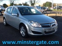 2009 VAUXHALL ASTRA 1.4 ACTIVE 16V TWINPORT 5d 90 BHP * 2 OWNERS FROM NEW * £2290.00