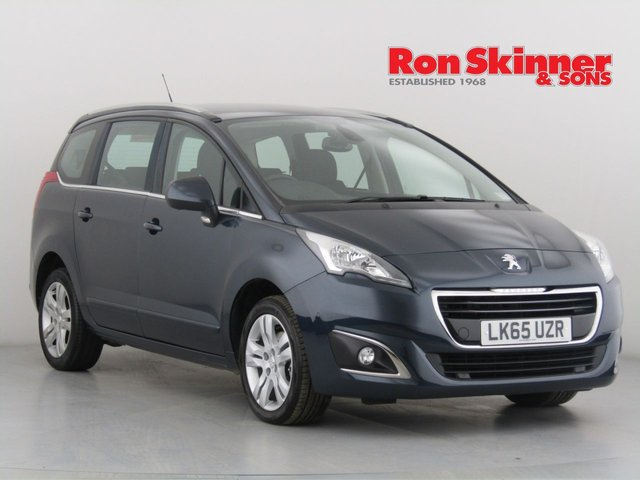 View our 2015 65 PEUGEOT 5008 1.6 BLUE HDI S/S ACTIVE 5d AUTO 120 BHP