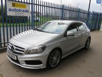 USED 2013 13 MERCEDES-BENZ A CLASS 1.5 A180 CDI BlueEFFICIENCY AMG Sport 5dr Park camera Leather Cruise