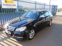 USED 2014 14 MERCEDES-BENZ C CLASS 2.1 C220 CDI SE (Executive) 7G-Tronic Plus 5dr Leather Bluetooth  & audio