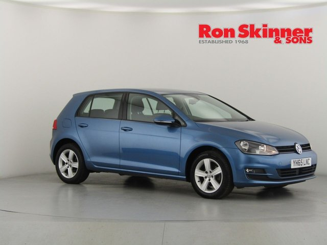 View our 2015 65 VOLKSWAGEN GOLF 1.6 MATCH TDI BLUEMOTION TECHNOLOGY 5d 103 BHP