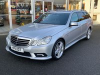 USED 2011 11 MERCEDES-BENZ E CLASS 1.8 E250 CGI BLUEEFFICIENCY SPORT 5 DOOR ESTATE AUTO 204 BHP