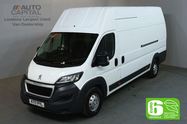 2017 17 PEUGEOT BOXER 2.0 BLUE HDI 435 L4H4 130 BHP EXTRA LWB X/H/ROOF FWD EURO 6 VAN EURO 6 SPARE KEY