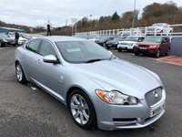 USED 2009 59 JAGUAR XF 3.0 V6 LUXURY 4d 240 BHP Silver met with Grey leather, Sat Nav, Bluetooth, service history