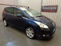 2010 PEUGEOT 5008 1.6 HDI EXCLUSIVE 5d 110 BHP £3995.00