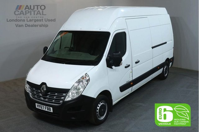 2017 67 RENAULT MASTER 2.3 LH35 BUSINESS DCI 130 BHP LWB EXTRA H/ROOF EURO 6 ECO  EURO 6 ECO DRIVE