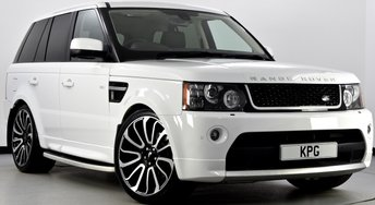 2013 LAND ROVER RANGE ROVER SPORT 3.0 SD V6 HSE Black Edition 4X4 (s/s) 5dr Auto [8] £25995.00