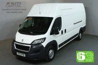 USED 2017 17 PEUGEOT BOXER 2.0 BLUE HDI 435 L4H4 130 BHP EXTRA LWB X/H/ROOF FWD EURO 6 VAN EURO 6 SPARE KEY