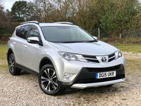 USED 2015 15 TOYOTA RAV4 2.2 D-4D INVINCIBLE 5d AUTO 150 BHP ESTATE