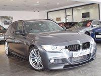USED 2015 15 BMW 3 SERIES 2.0 325D M SPORT TOURING 5d AUTO 215 BHP M PERFORMANCE STYLING+PRO NAV