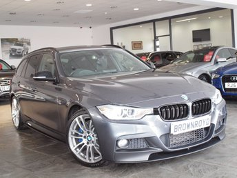 2015 BMW 3 SERIES 2.0 325D M SPORT TOURING 5d AUTO 215 BHP £16990.00