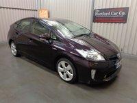 2013 TOYOTA PRIUS 1.8 T SPIRIT VVT-I 5d AUTO 99 BHP £11495.00