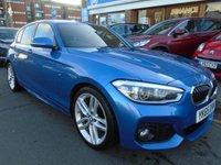 USED 2015 65 BMW 1 SERIES 2.0 125D M SPORT 5d AUTO 221 BHP SAT NAV, DAB RADIO