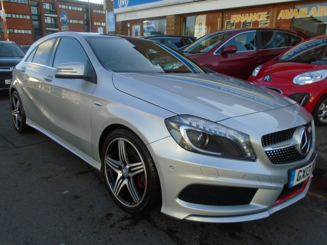 2013 13 MERCEDES-BENZ A CLASS 2.0 A250 BLUEEFFICIENCY ENGINEERED BY AMG 5d AUTO 211 BHP