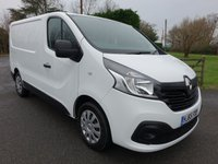2015 RENAULT TRAFIC SL27 BUSINESS PLUS L1 SWB 1.6 CDTI 115 BHP £9495.00