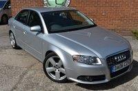 2006 AUDI A4 2.0 T FSI S LINE 4d AUTO 200 BHP £3490.00