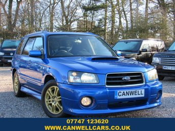 2005 SUBARU FORESTER XT WR-LIMITED £6990.00