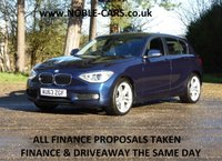 2013 BMW 1 SERIES 2.0 118D SE 5d 141 BHP £SOLD