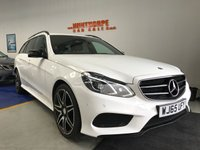 2015 MERCEDES-BENZ E-CLASS 2.1 E220 BLUETEC AMG NIGHT EDITION 5d AUTO 174 BHP £19495.00
