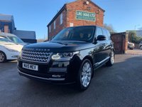 USED 2015 15 LAND ROVER RANGE ROVER 3.0 TDV6 VOGUE SE 5d AUTO 255 BHP