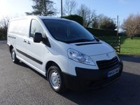 USED 2016 66 PEUGEOT EXPERT  1200 L2 LWB 1.6 Hdi 90Ps Superb Example With Only 36000 Miles
